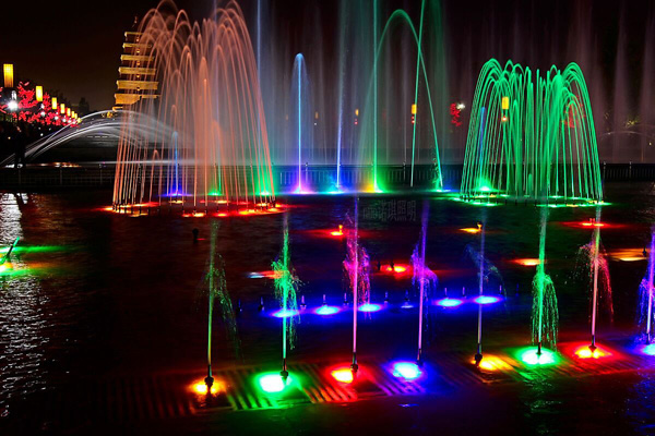 Led underwater fountain light dongguan leysun light co ltd - Swimming pool fountains and lights ...