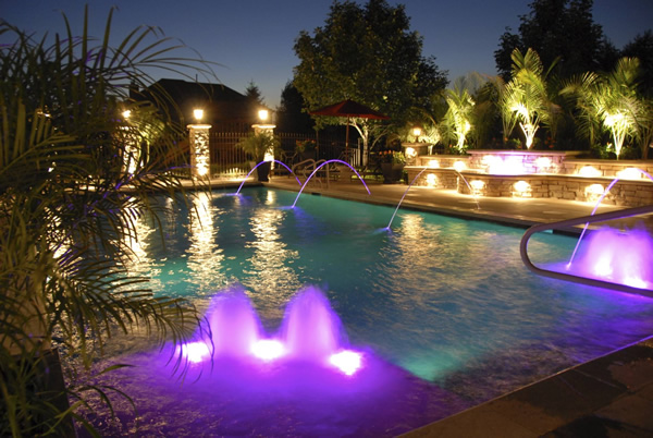led underwater/fountain light