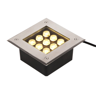 Outdoor Driveway Lighting 9w Ground Lights For Driveways